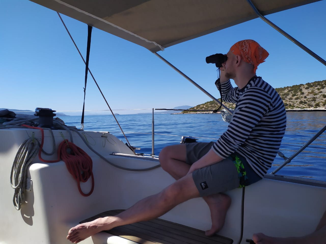 капитан яхты