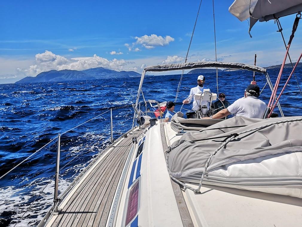 практика в море