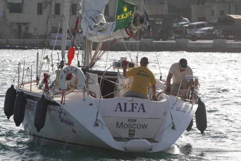Race Tracker here - Rolex Middle Sea Race